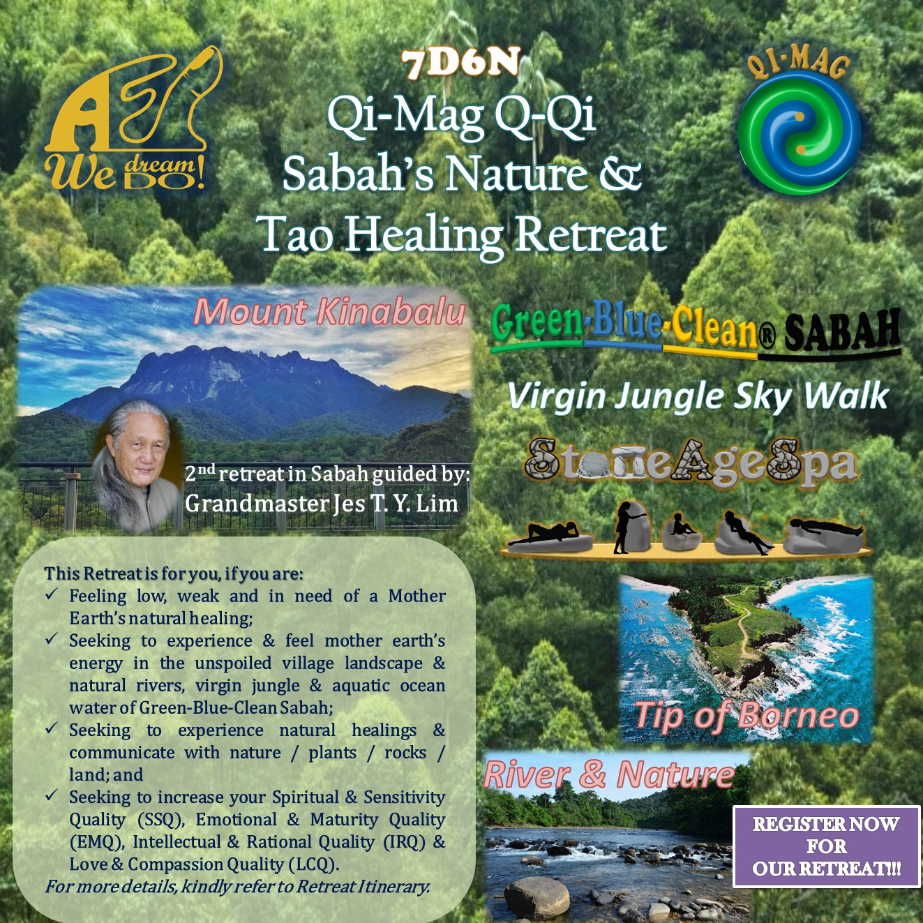 QQ QI SABAH NATURE N TAO HEALING RETREAT