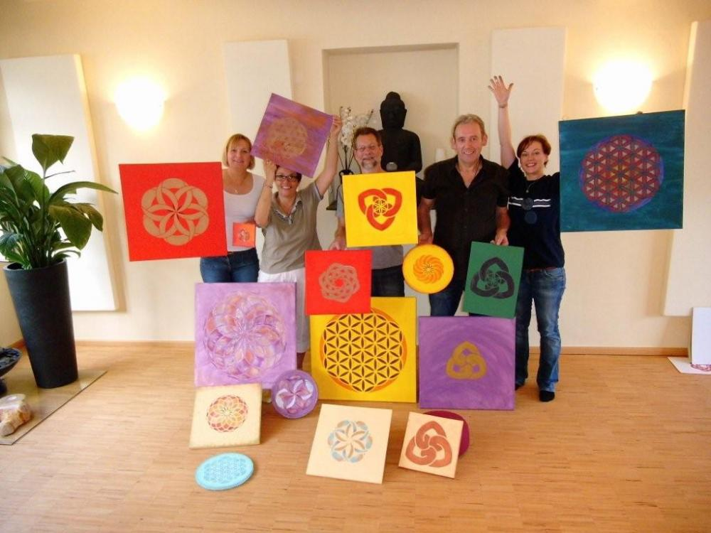 Schablonen-Kunst Workshop in Aschaffenburg